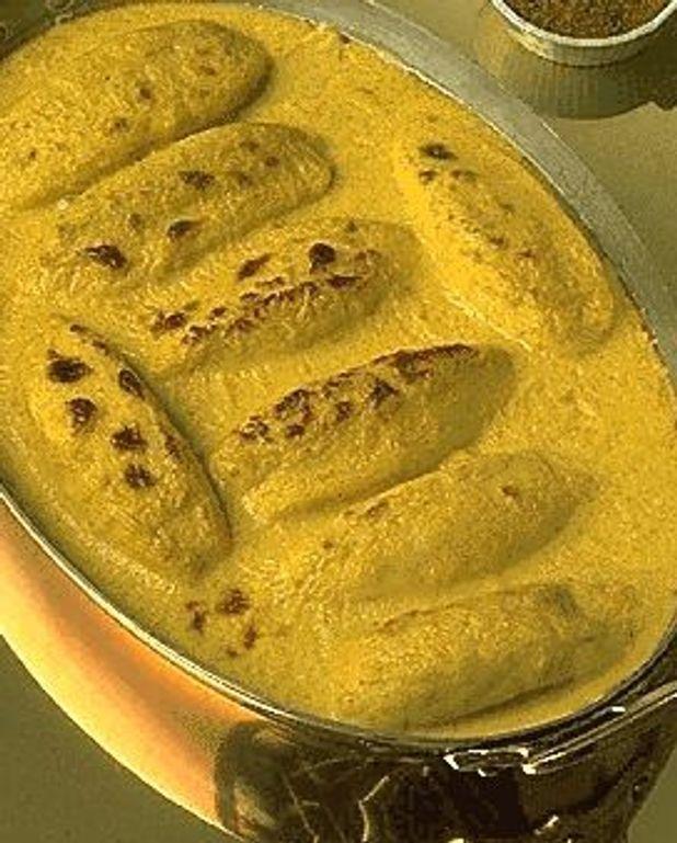 Quenelles au curry