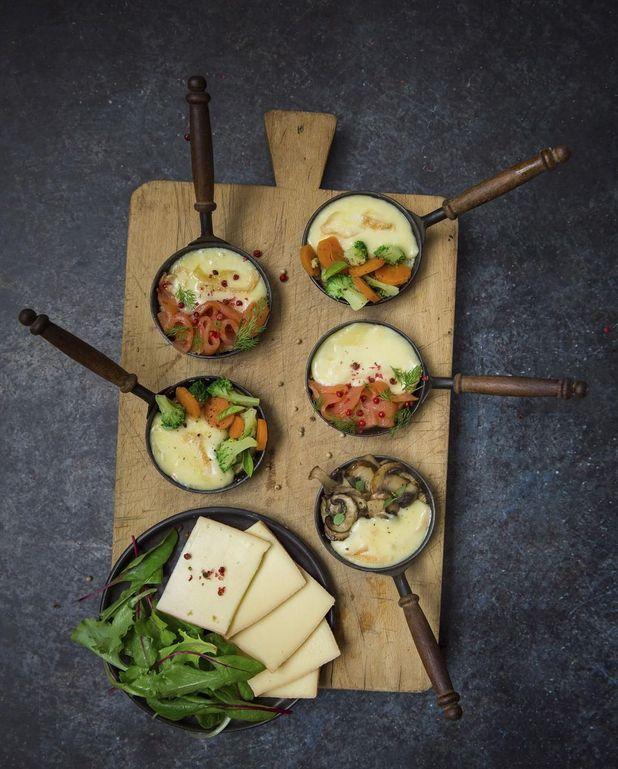 Raclette en trois versions