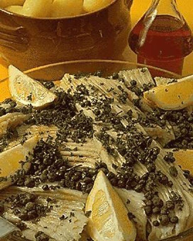 Raie au beurre noir