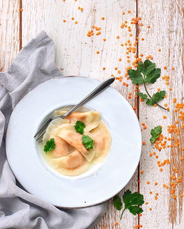 Ravioles à la crème de butternut