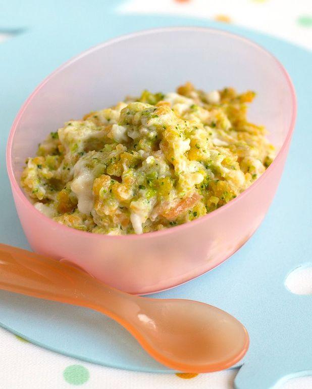Recette purée, haricots verts et poulet bébé 12 mois
