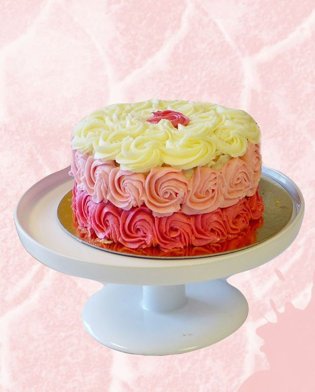 Rose cake ScrapCooking