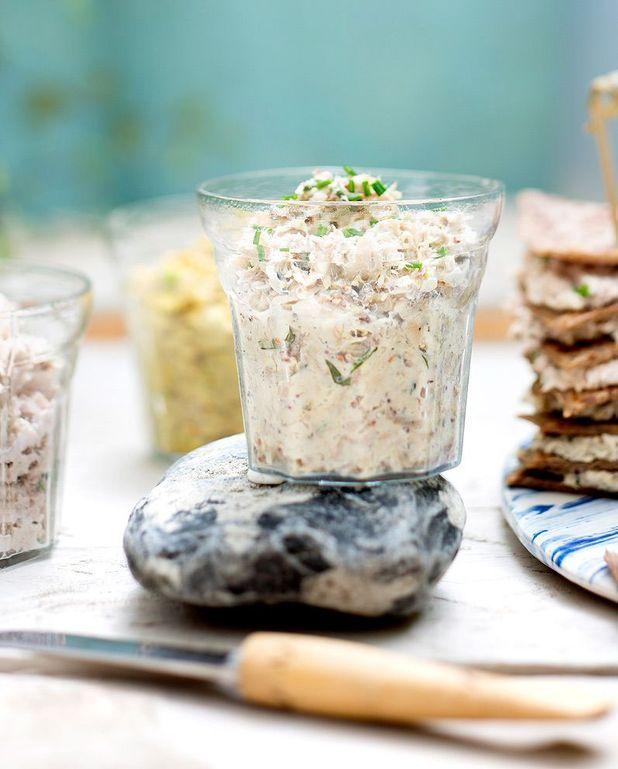 Rillettes de sardines au fromage frais et curcuma