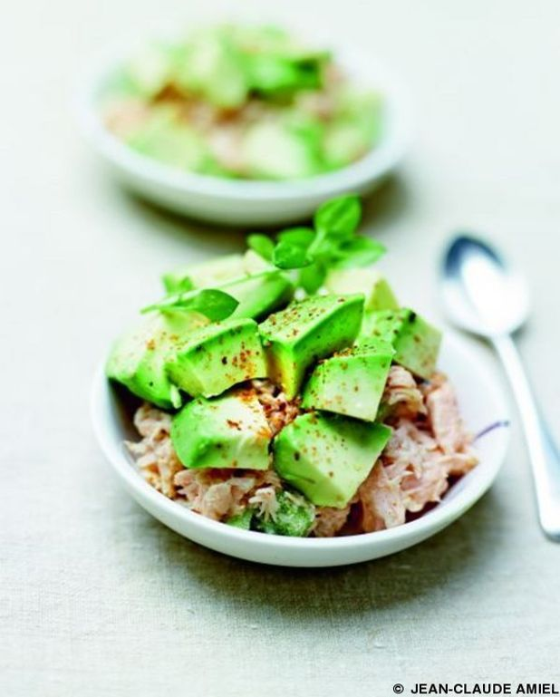 Rillettes saumon-avocat