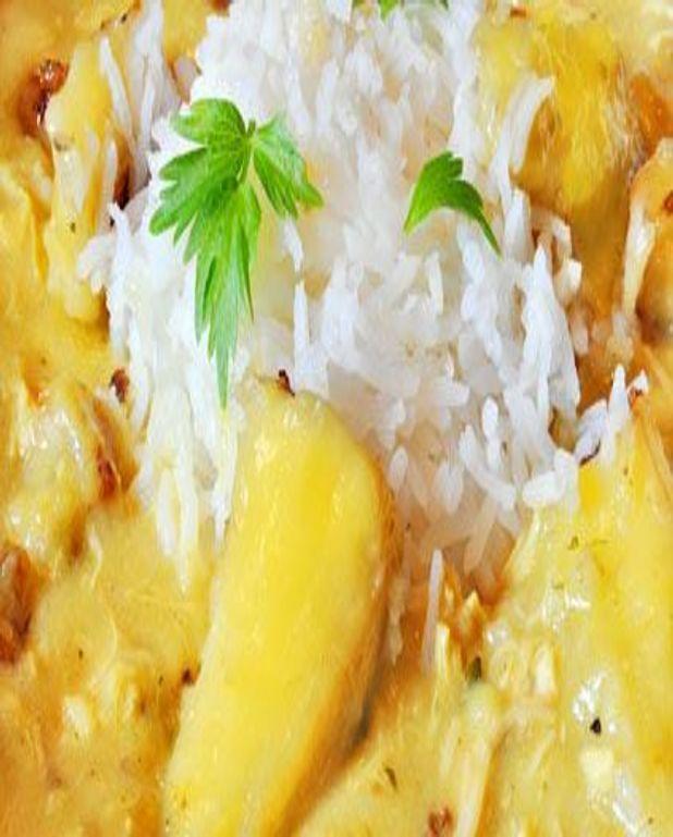 Riz aux litchis et à l'ananas