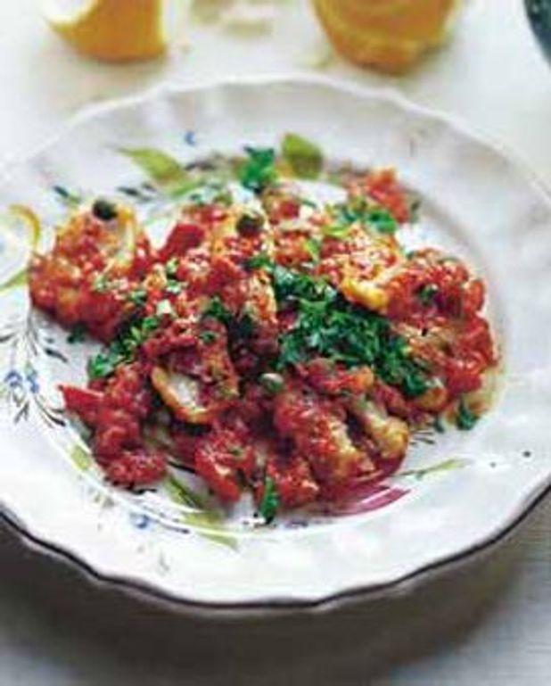 Rougets aux tomates