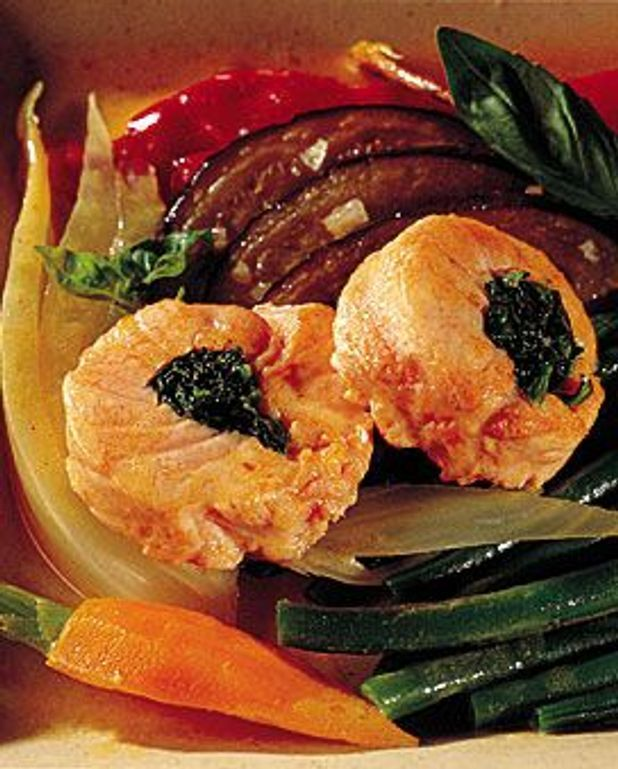 Roulé de saumon sauvage