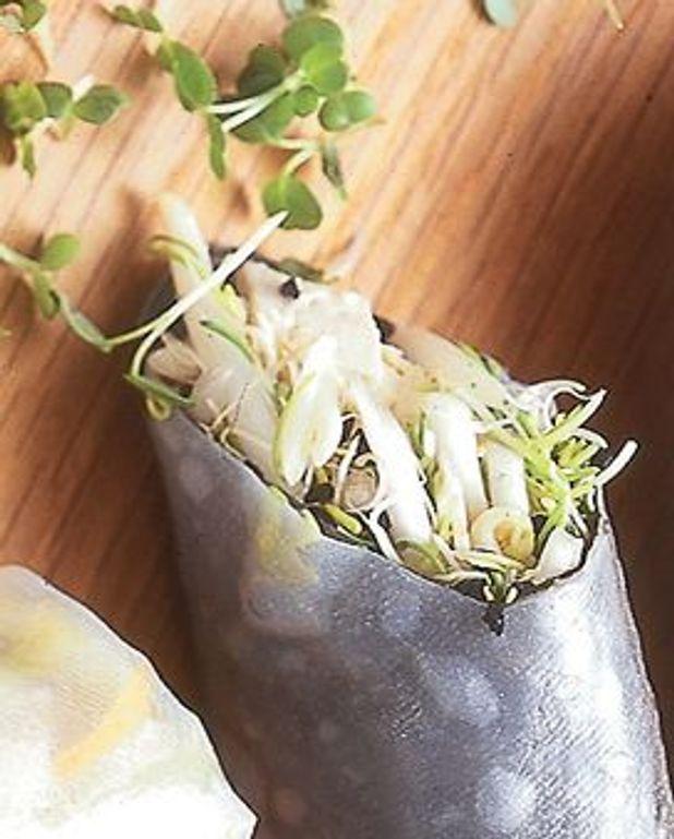 Rouleaux algues-tofu