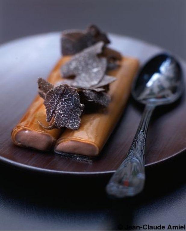 Rouleaux crémeux de chocolat au thé