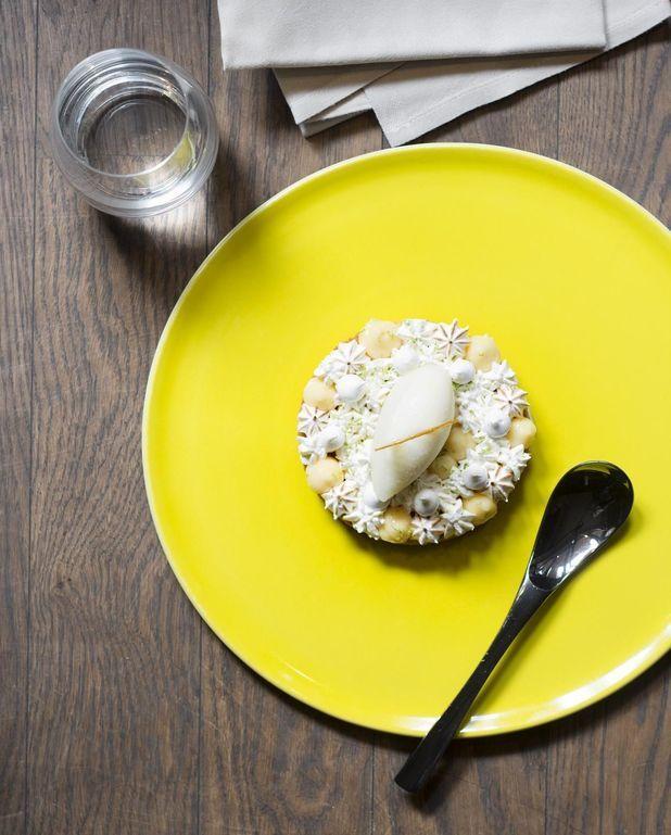 Sablé façon tarte au citron
