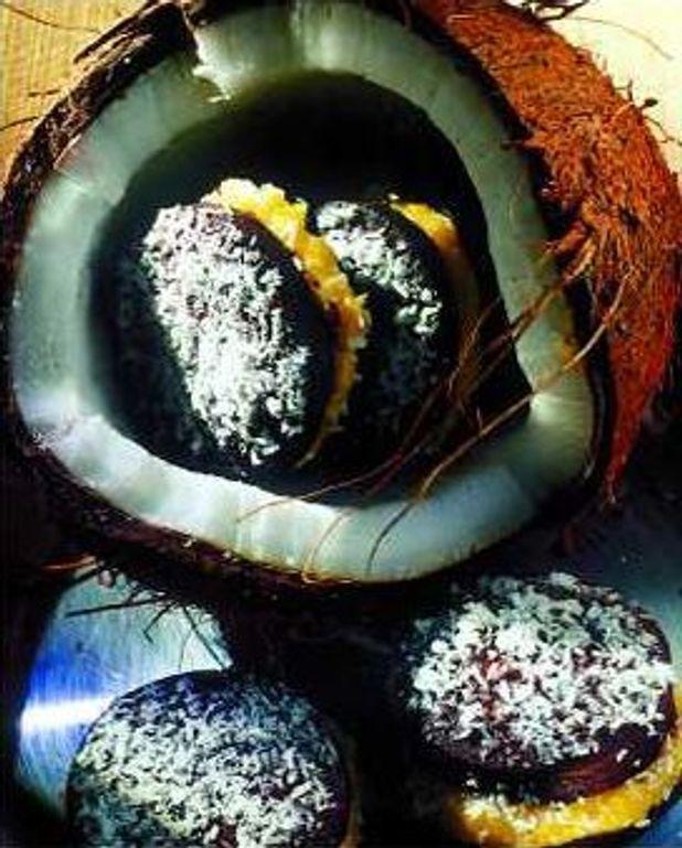 Sablés au chocolat et à la crème de coco