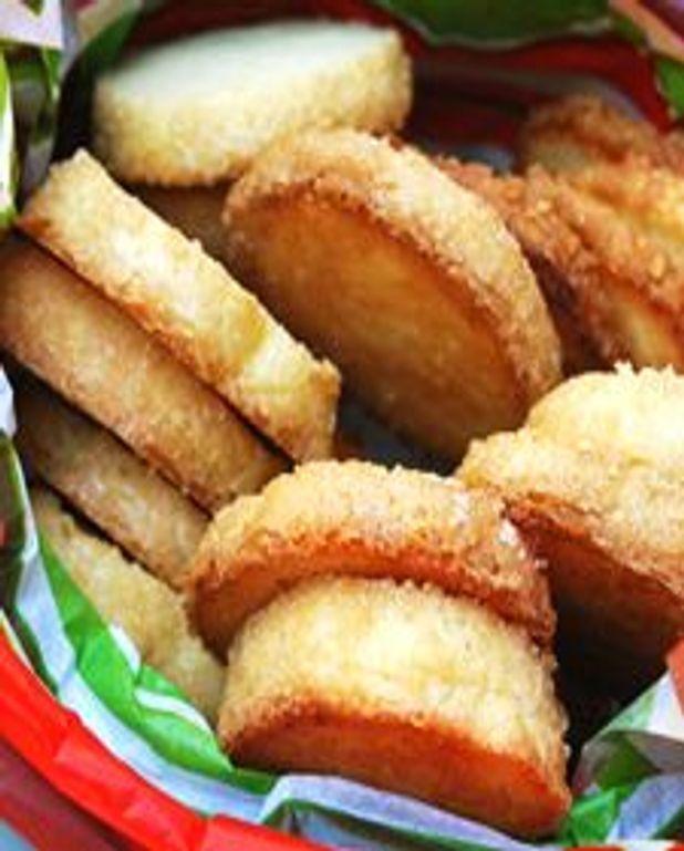 Sablés au sucre d'érable - Sablés au sucre de lavande