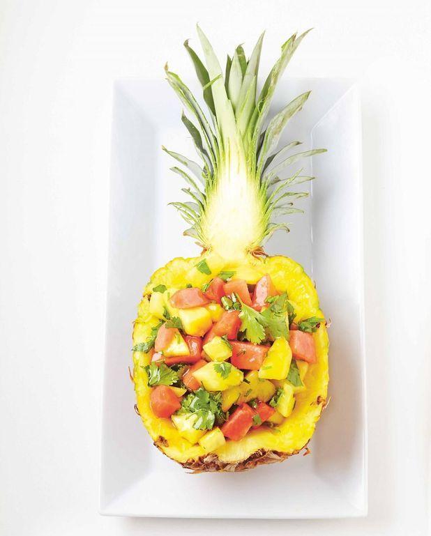 Salade ananas-pastèque