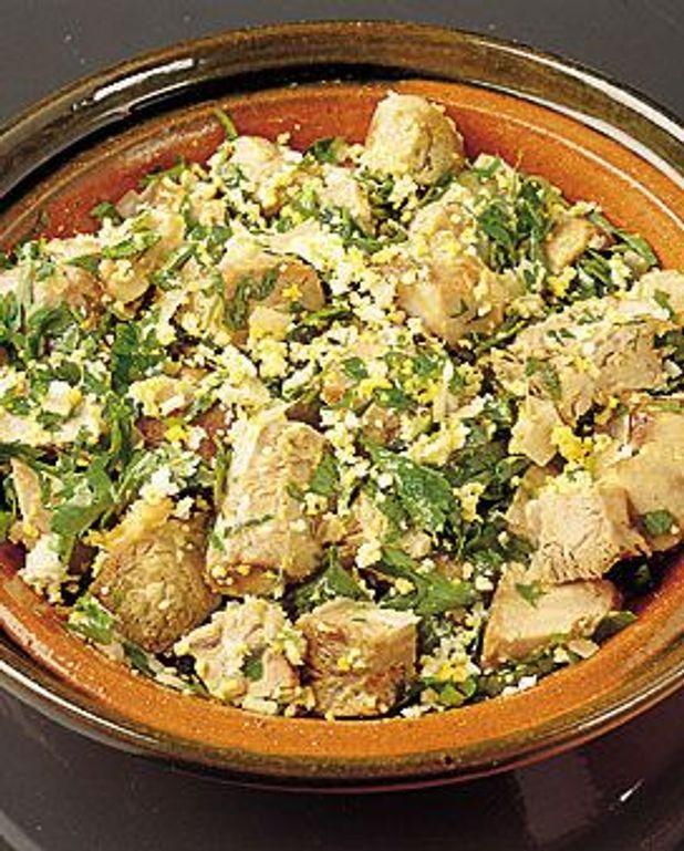 Salade au jarret de veau