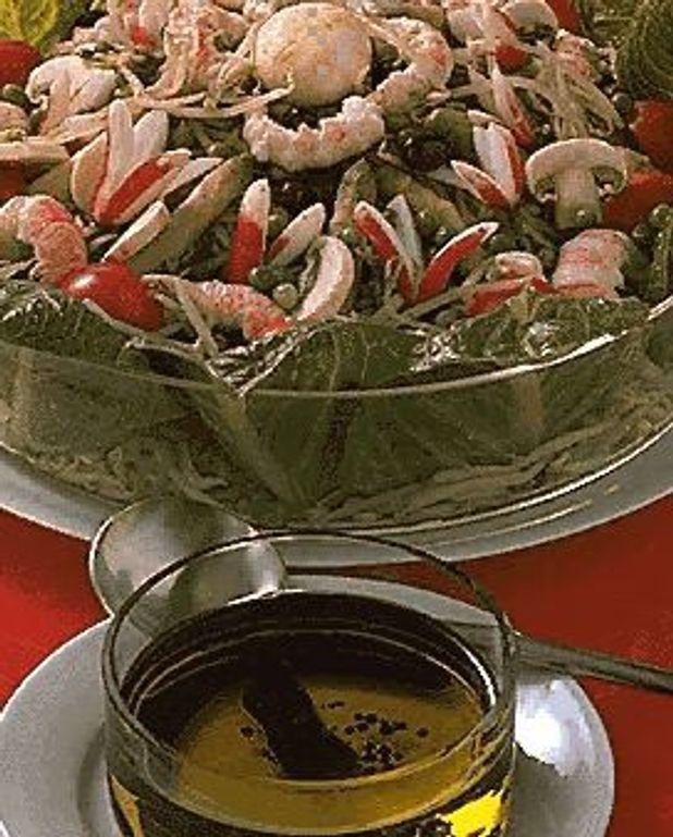 Salade au soja