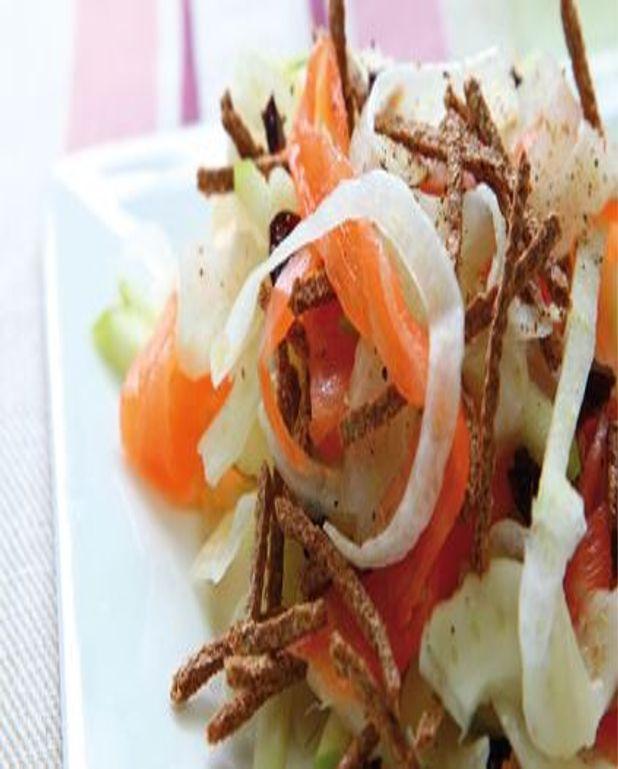 Salade au son de blé