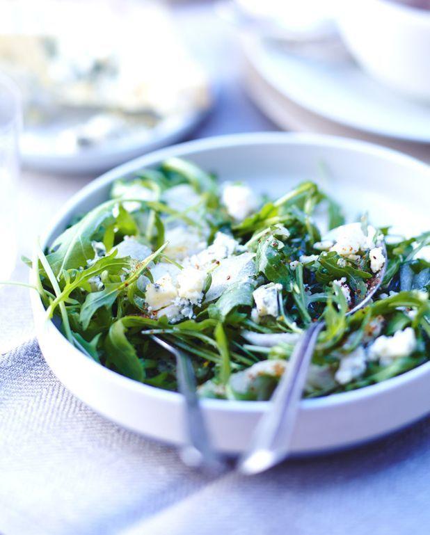 Salade au stilton
