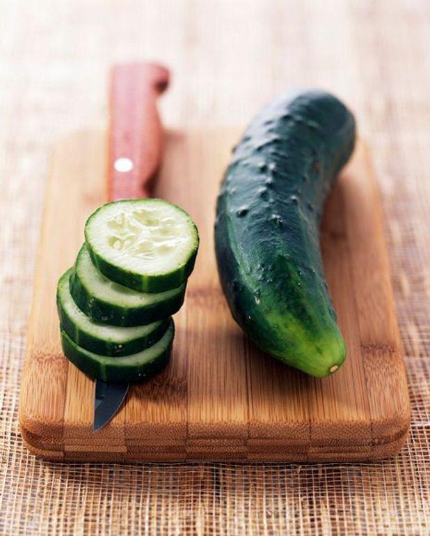 Salade de concombre aux carottes