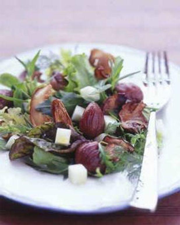 Salade aux cèpes