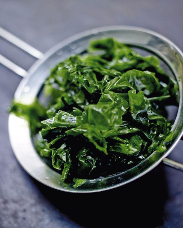 Salade César aux algues