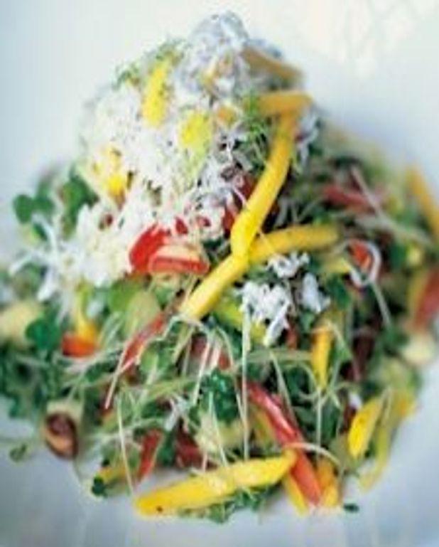 Salade croquante du Kérala