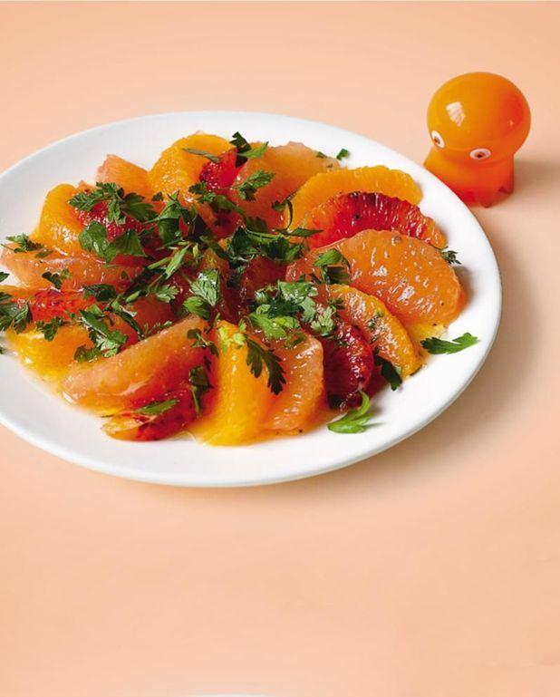 Salade d'agrumes aux deux persils de Florence Servan-Schreiber