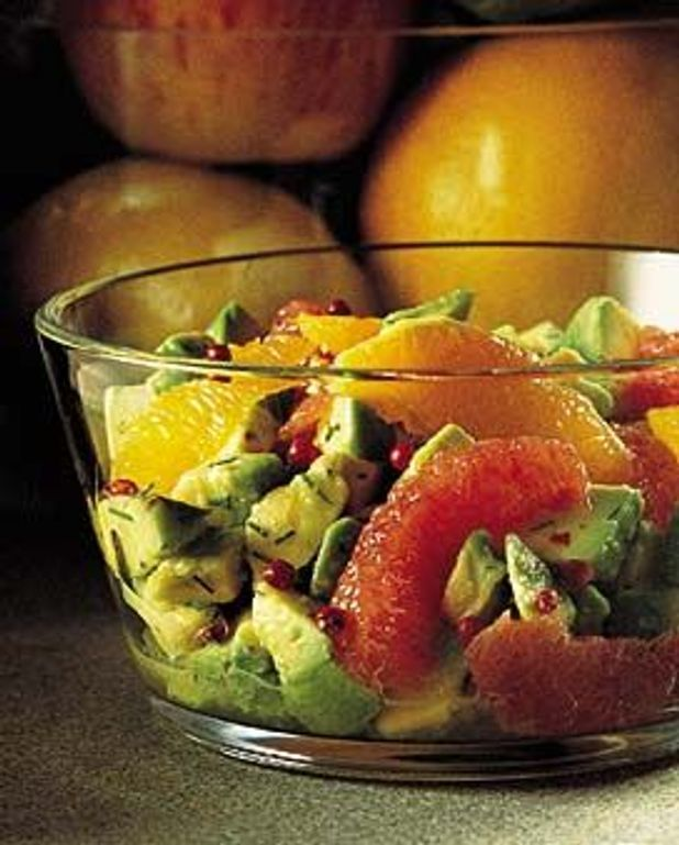 Salade d'avocats aux agrumes