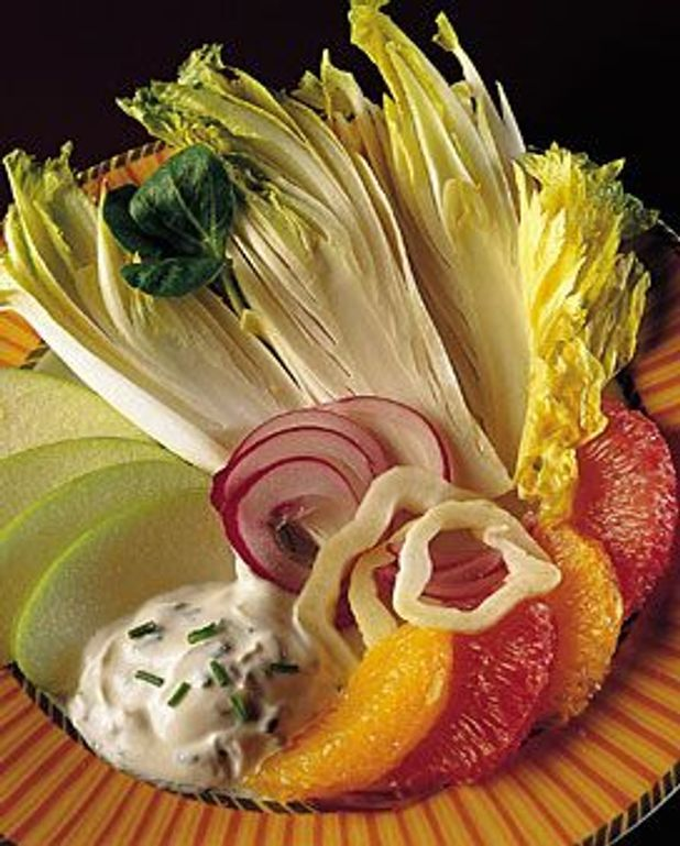 Salade d'endives aux fruits