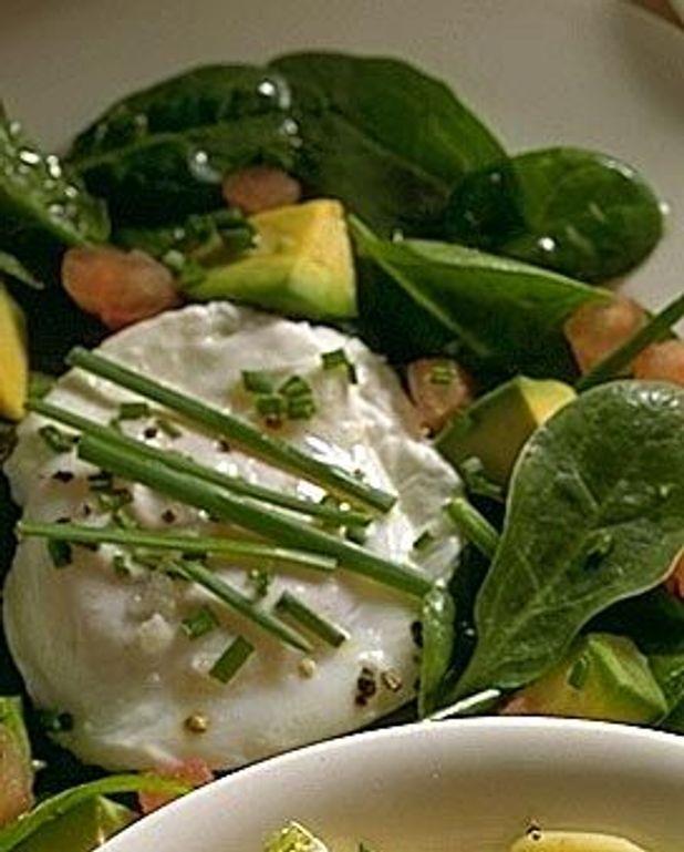 Salade d'épinard et avocat