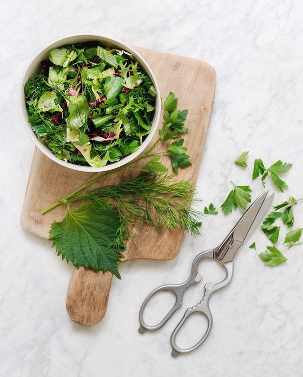 Salade d'herbes