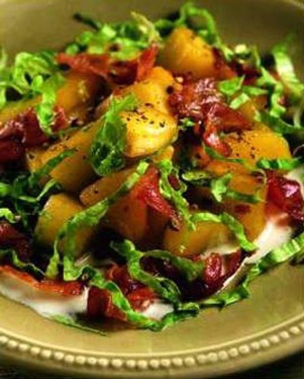 Salade de bacon à la pomme