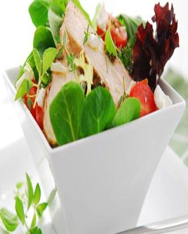 Salade de blancs de poulet