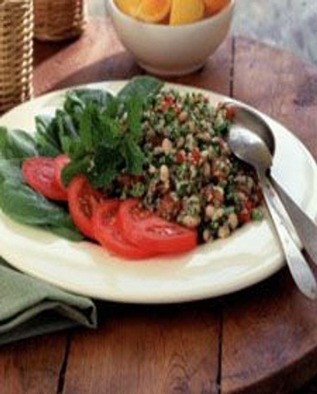 Salade de boulgour à la menthe