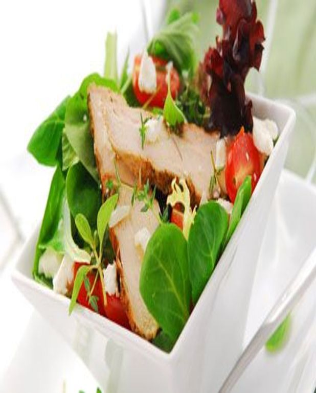 Salade de cailles