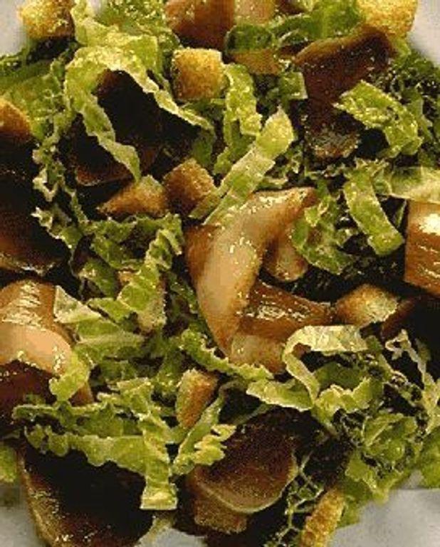 Salade de canard au chou