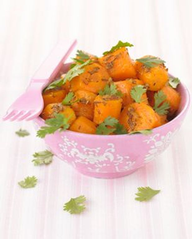 Salade de carottes au cumin et à la coriandre