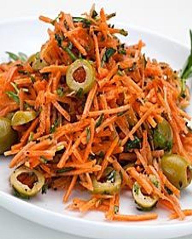 Salade de carottes aux herbes