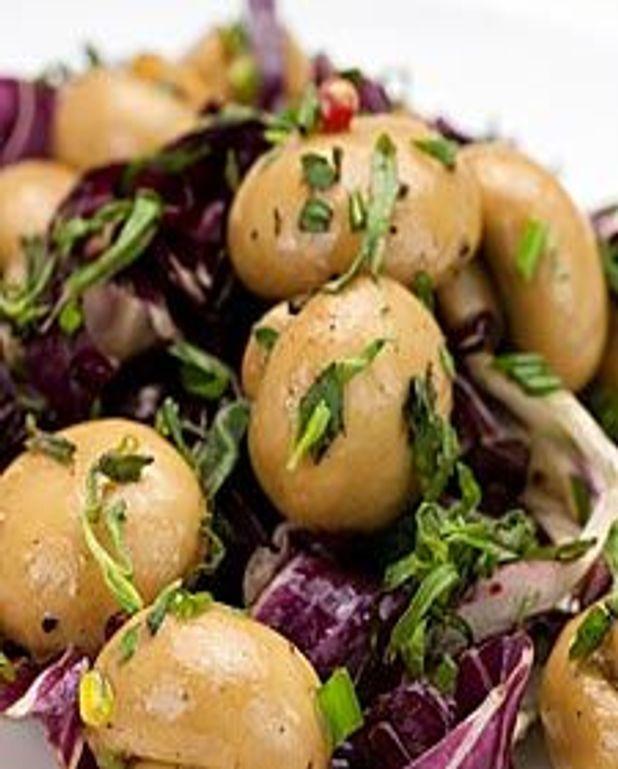 Salade de champignons à l'estragon