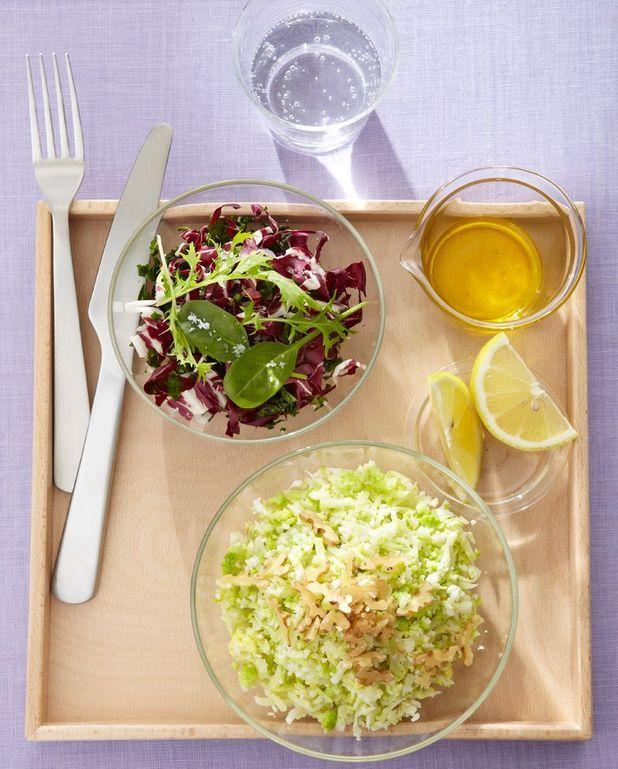 Salade de chou-fleur aux noix