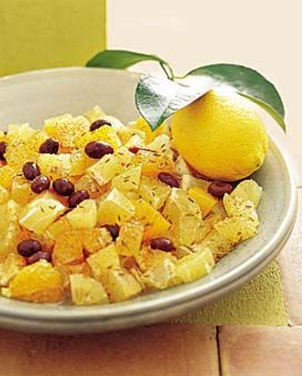 Salade de citrons