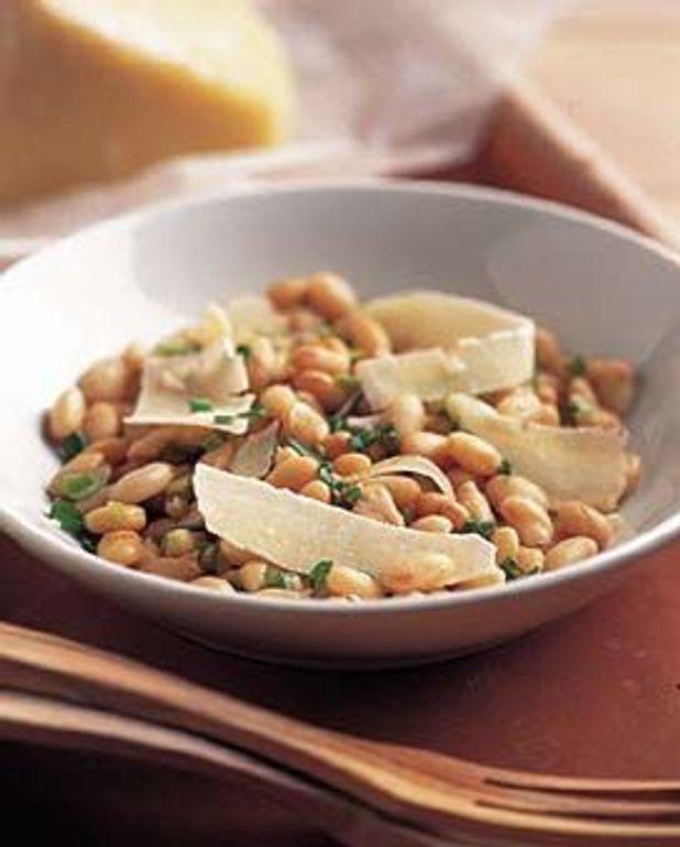 Salade de cocos au pecorino