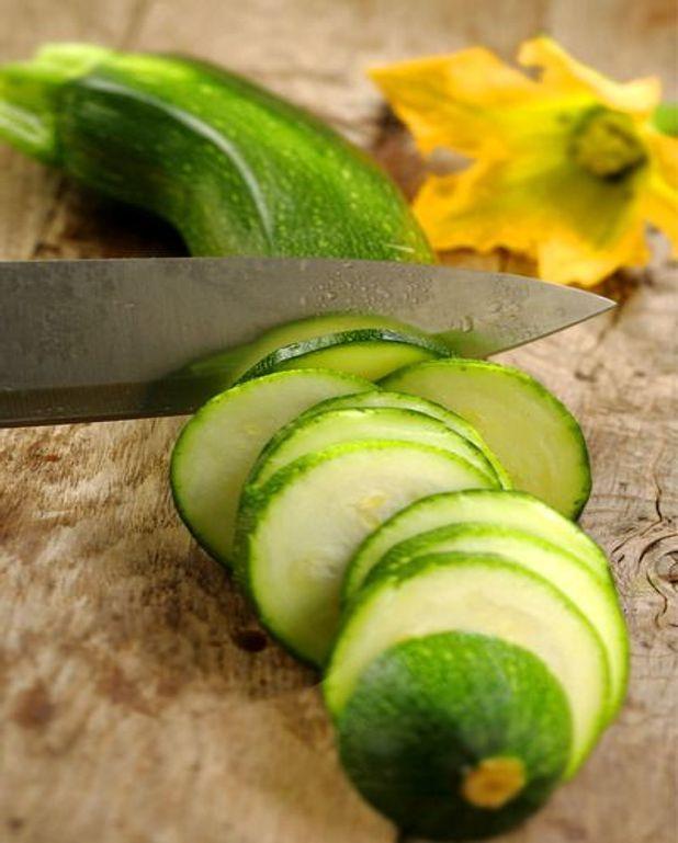 Salade de courgettes râpées