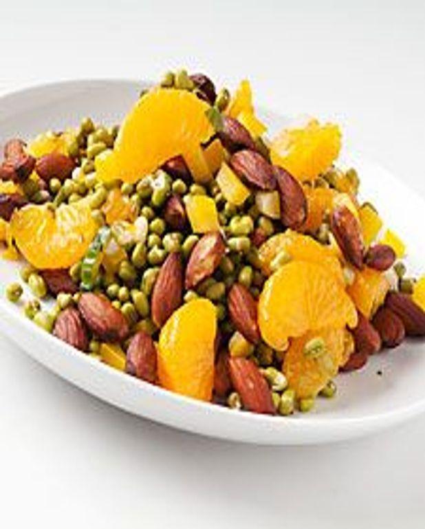Salade de fruits et noix