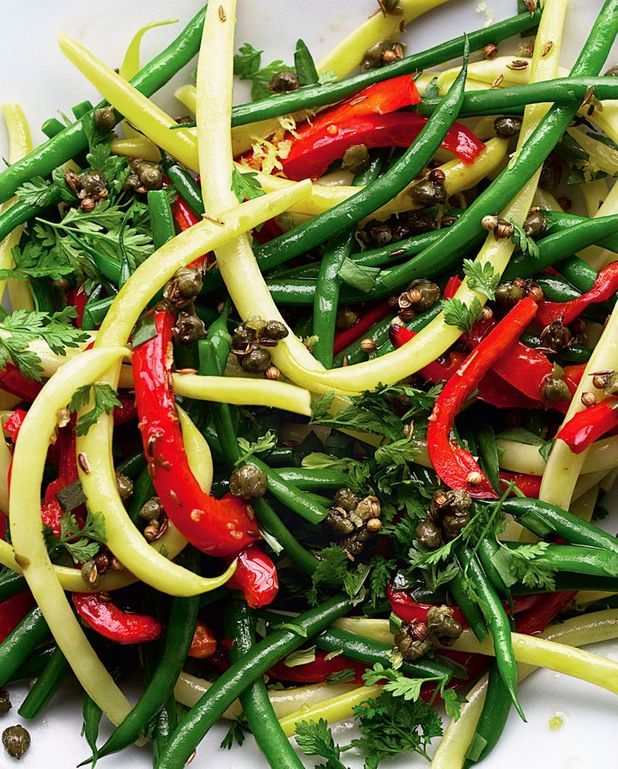 Salade de haricots variés