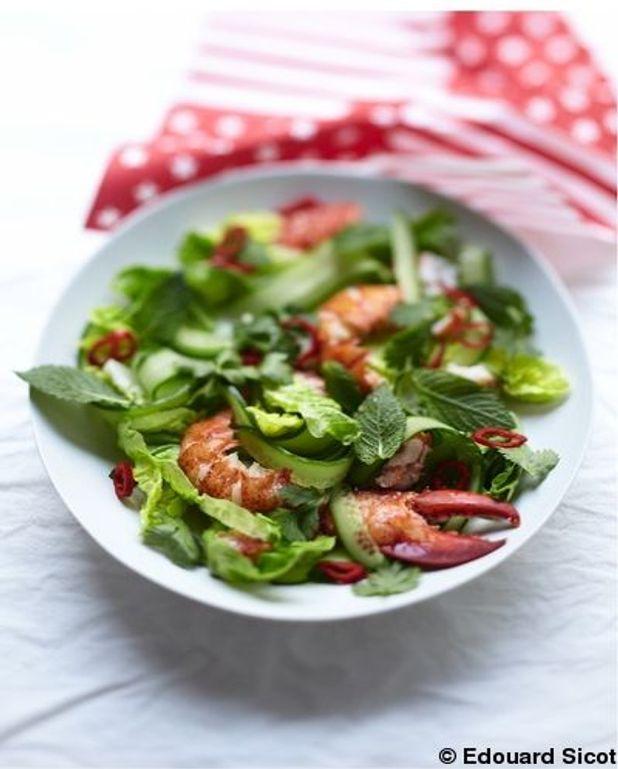 Salade de homard à la thaïe