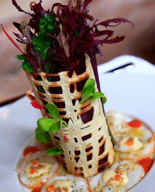 Salade de langouste à la Peruvienne