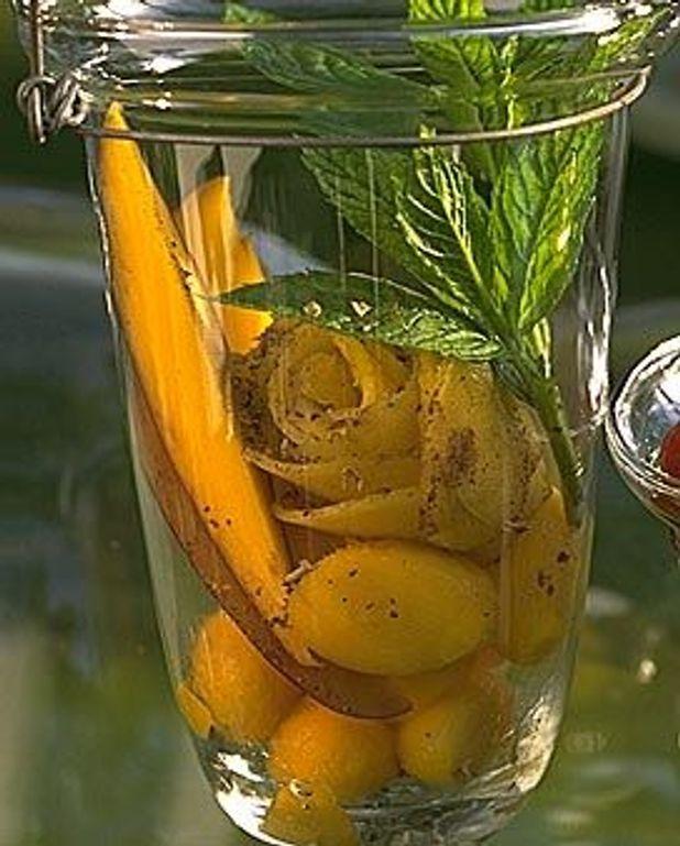 Salade de mangue aux quatre épices