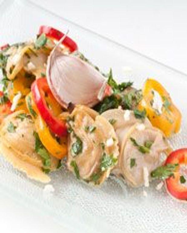 Salade de palourdes à l'ail et persil