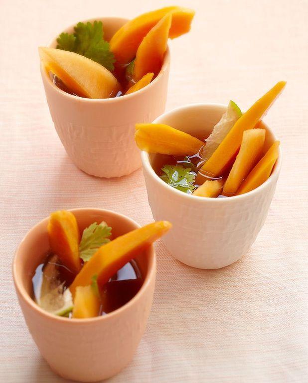 Salade de papaye au thé de Trish Deseine