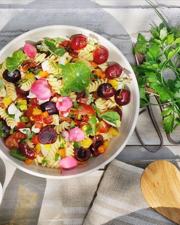 Salade de pâtes par Pierre Sang Boyer